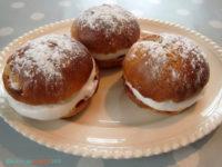 Fastelavnsboller (glutenfri, melkefri, maisfri, lavt sukkerinnhold, kan lages sukkerfri)