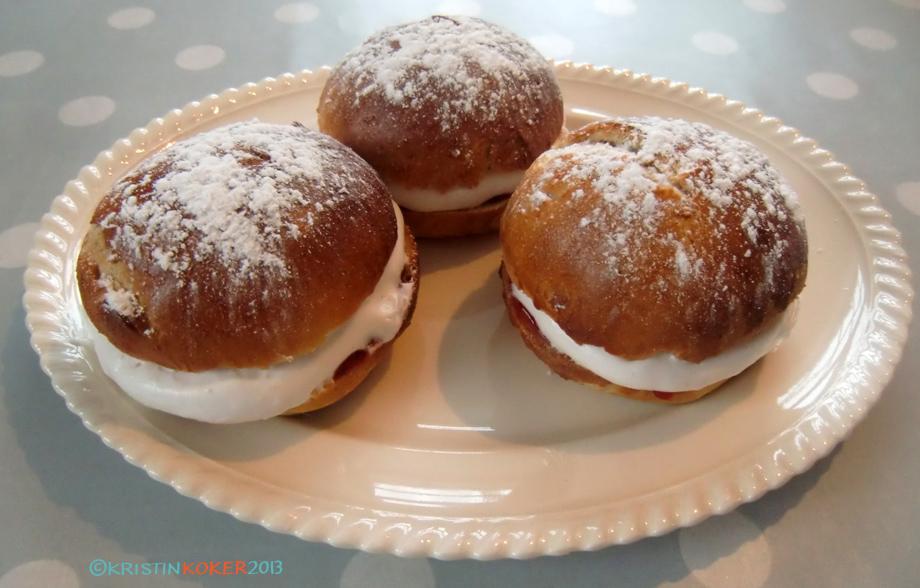 glutenfrie fastelavnsboller, fastelavensboller uten gluten og melk