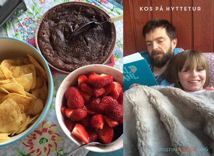hyttekake uten gluten og melk, superenkel kladdekake, sjokoladekake med fire ingredienser