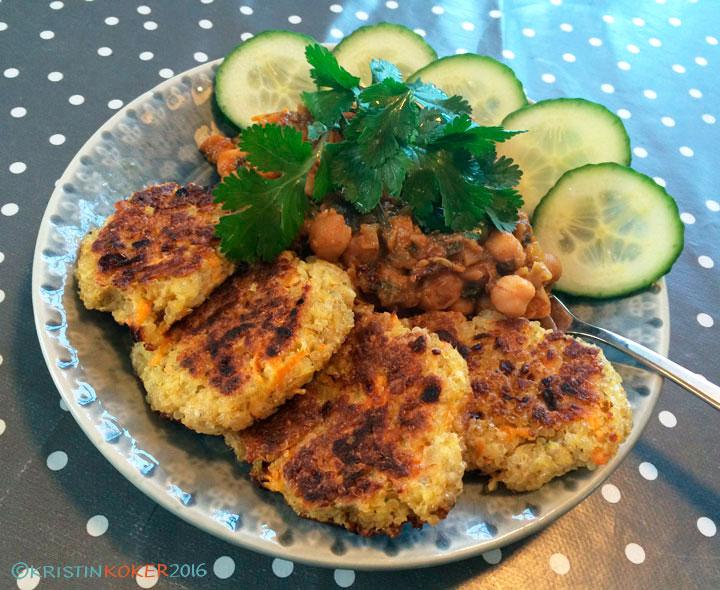 quinoakaker uten gluten og melk