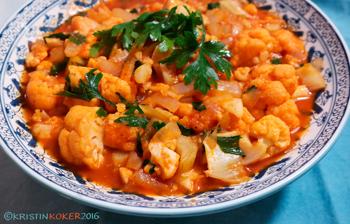 greek cauliflower casserole, greek cauliflower dish, gresk blomkålgryte, gresk blomkål med siron og tomat, kounoupithi kapama, vegansk, glutenfri, melkefri, gluten free dairy free, vegan