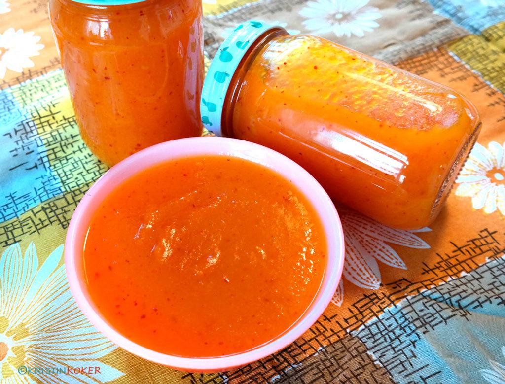 Greskarsyltetøy med chili og sitron