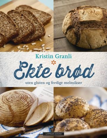 ekte brød uten gluten og ferdig melmikser, glutenfri brødbok
