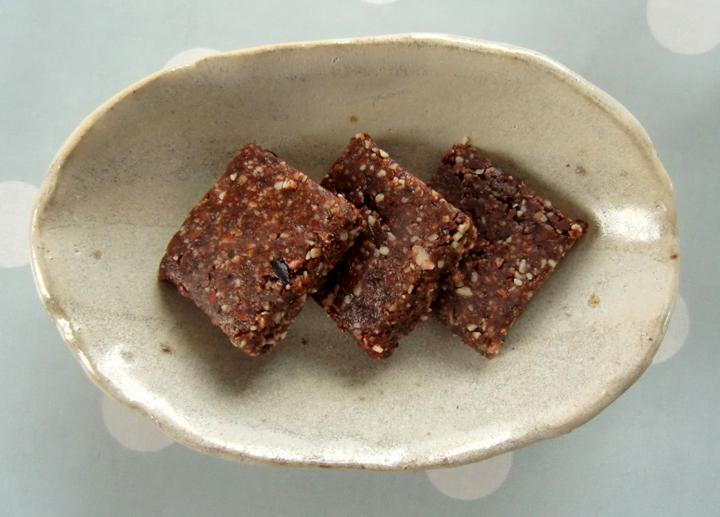 larabar med kakao og krydder