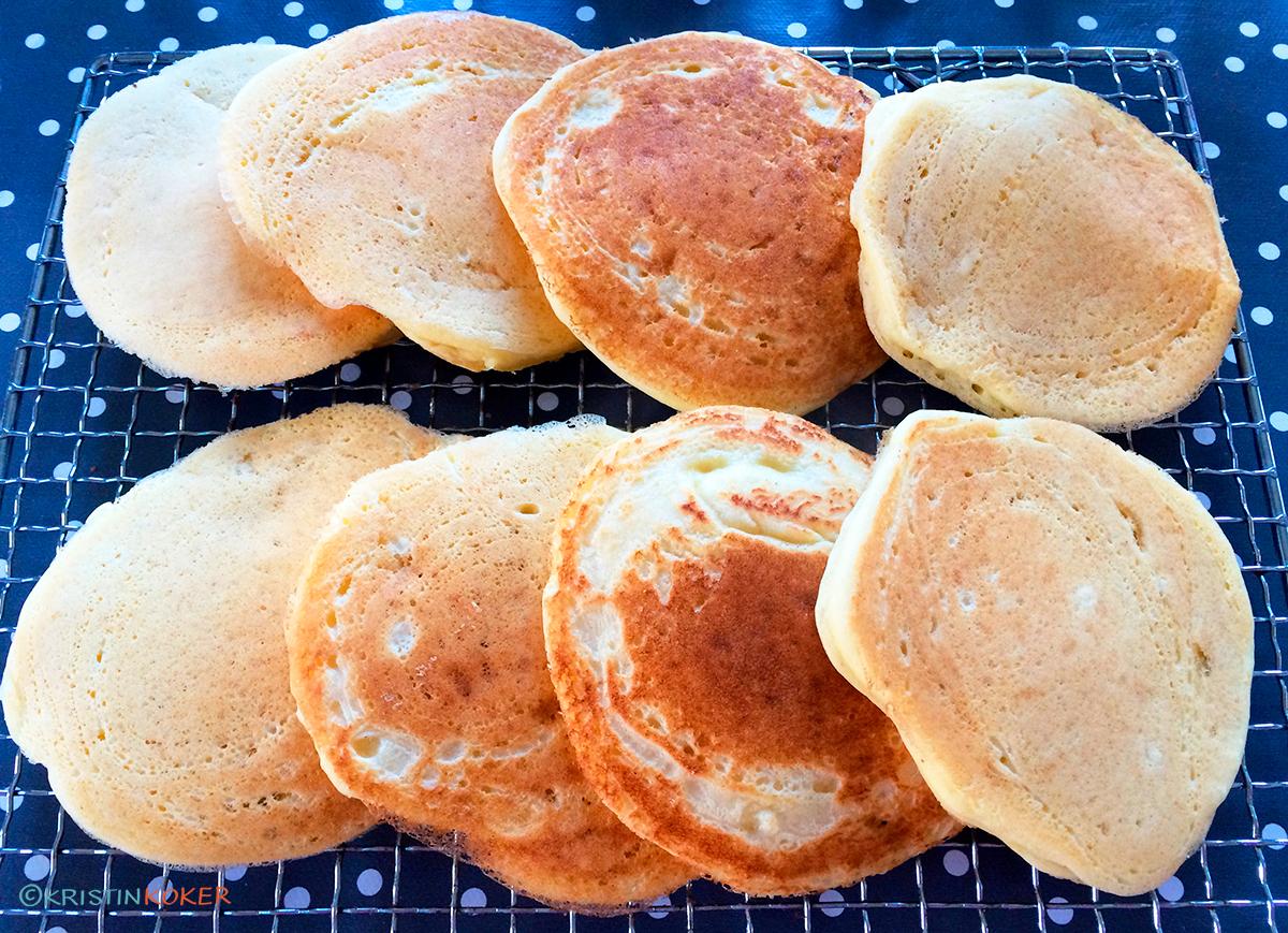 tykke pannekaker uten melk og gluten