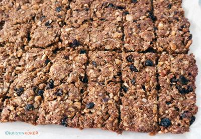 glutenfrie muslibarer, granolabarer eller energibarer med havre.