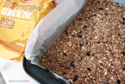 glutenfrie muslibarer med havre