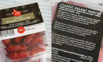 Salamisnacks fra Danmark