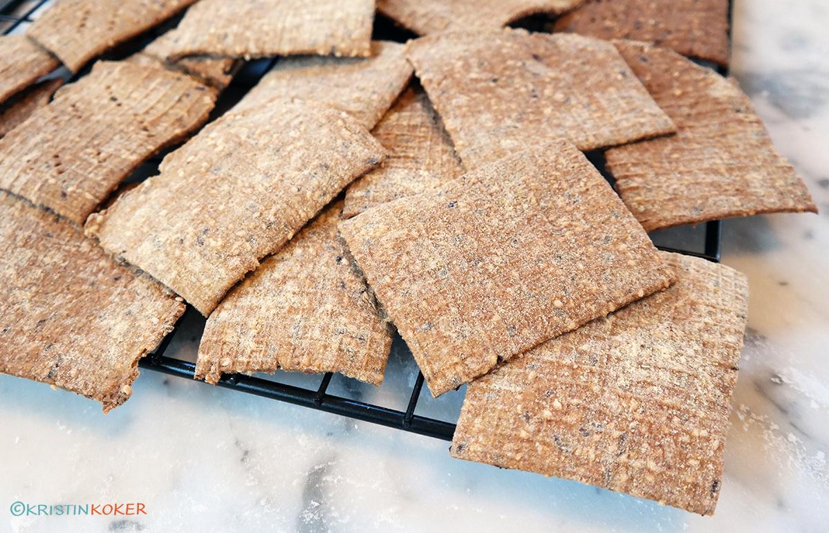 Glutenfrie fiberknekkebrød