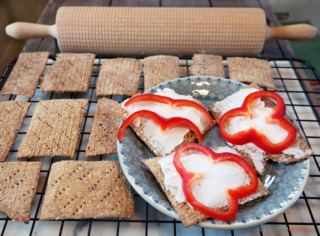 Glutenfrie fiberknekkebrød uten havre