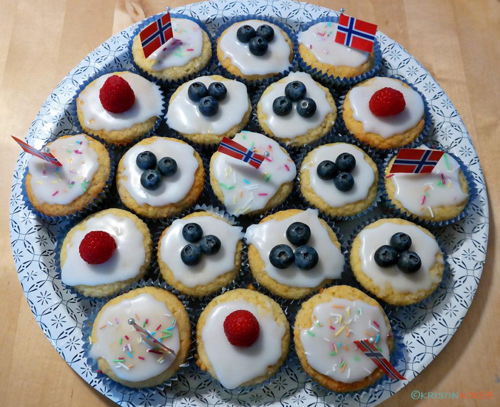 glutenfrie muffins til 17.mai