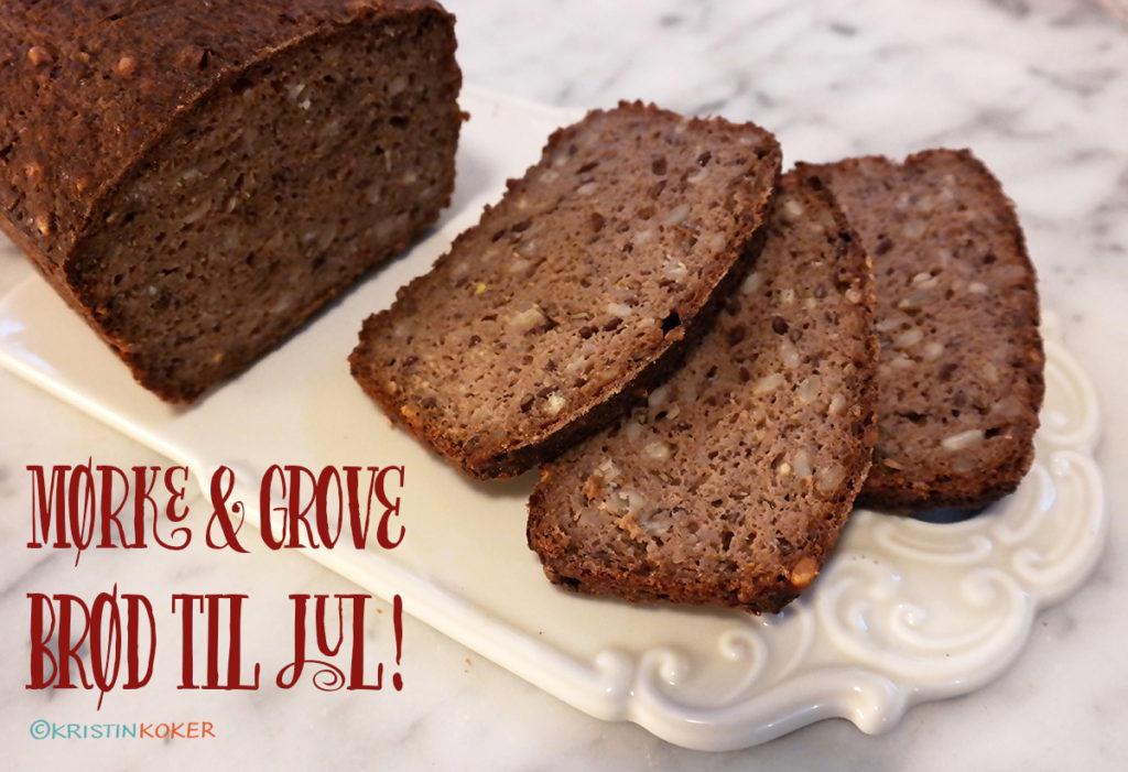 mørke glutenfrie brød til jul