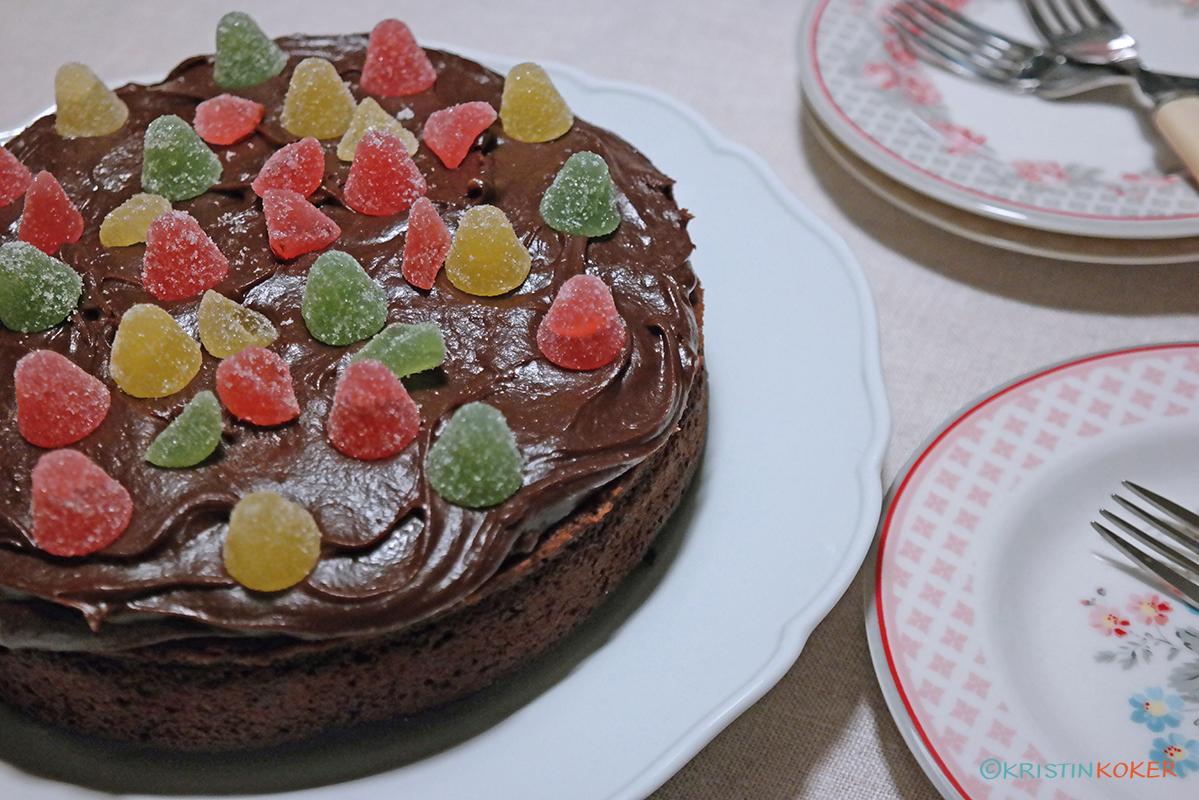 Liten sjokoladekake fra SWEET