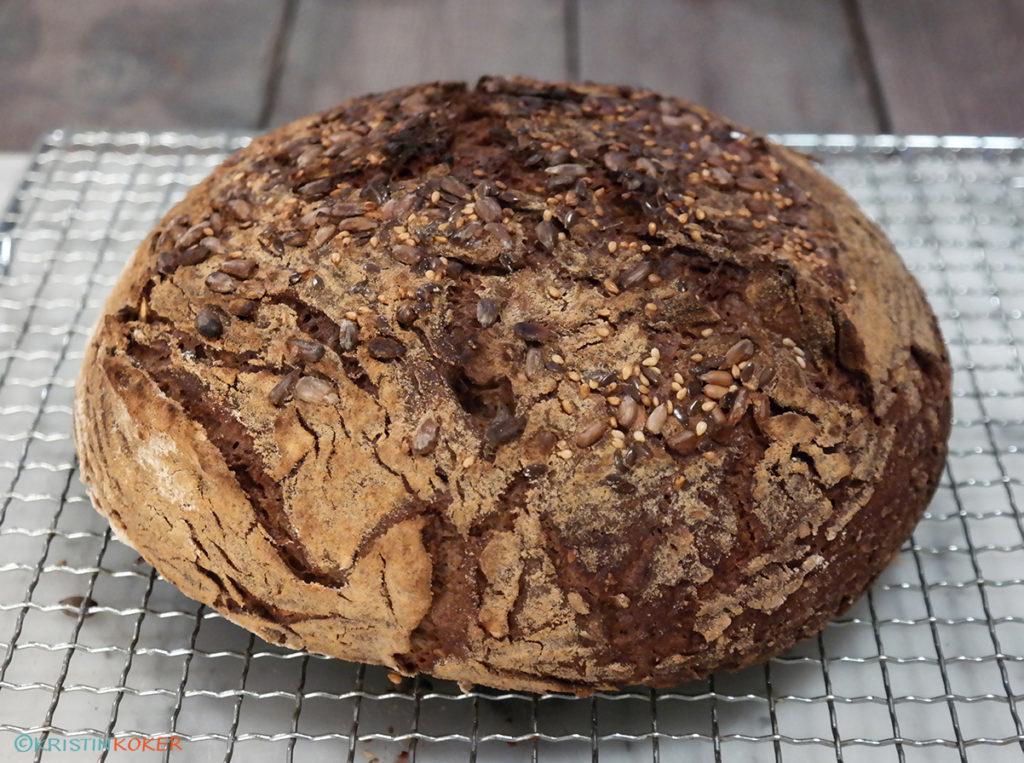 glutenfritt grytebrød med maltet smak