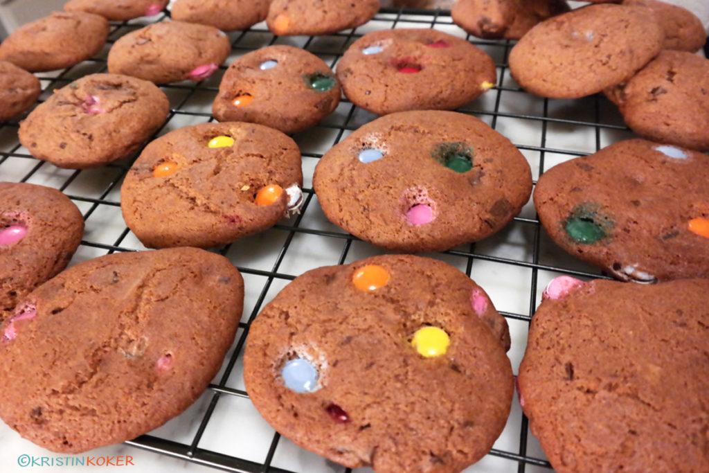 glutenfrie cookies med oboypulver og sjokolade